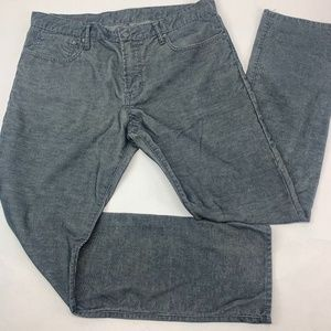 Gap 1969 Mens Corduroy Pants 36 x 34 Straight Leg